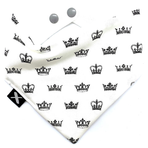 'CROWNS' Bandana Bib