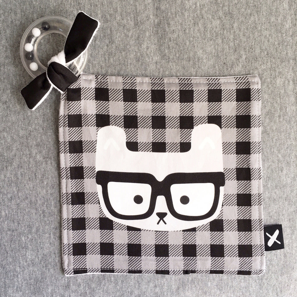 HIPSTER 'Rattle Binkie' (only 3 left!)