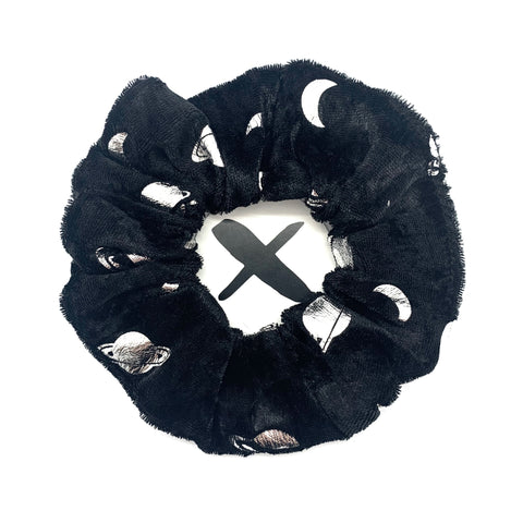 'VELVET SPACE' Scrunchie