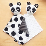 PANDA 'Binkie Blankie'  (you pick the minky colour!)