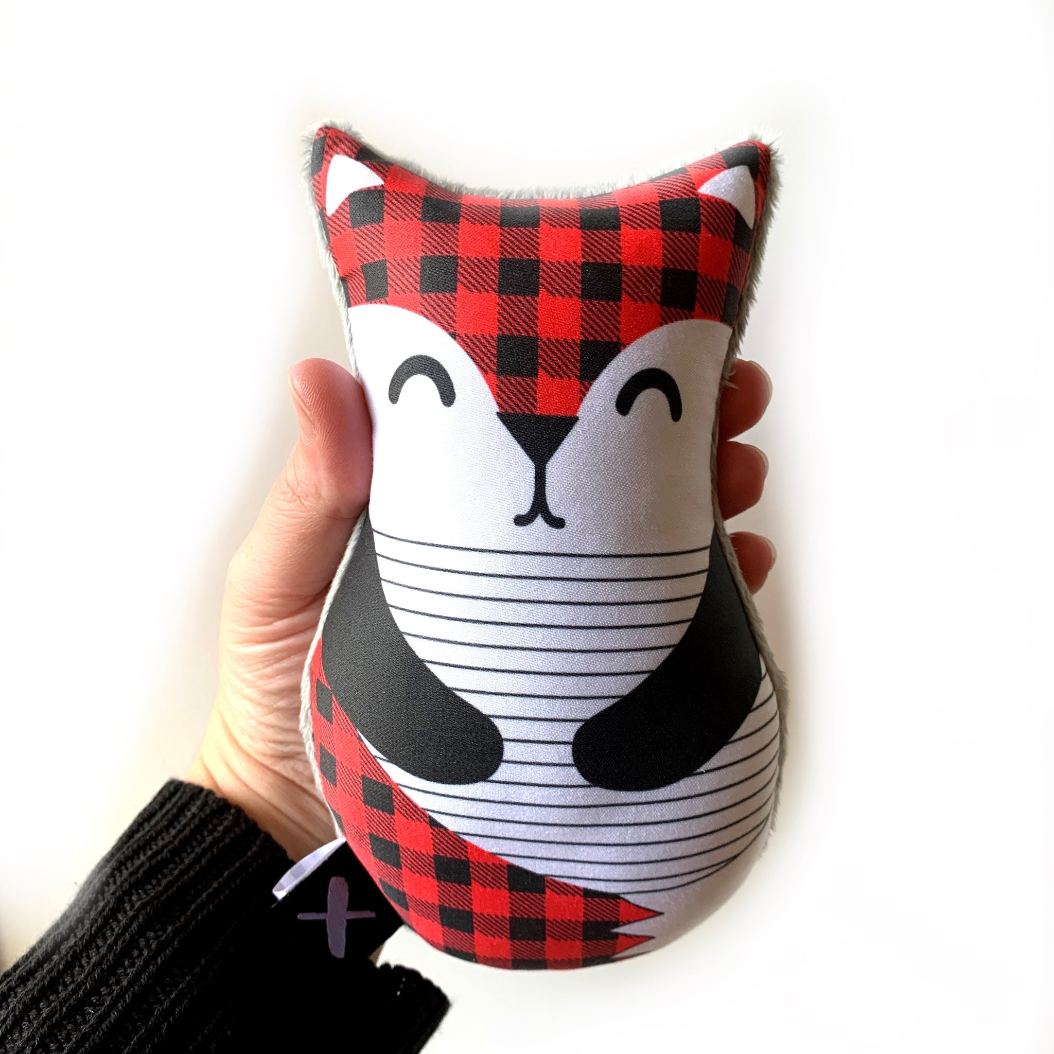 PLAID FOX 'Binkie Blankie' + 'Babushka Rattle'