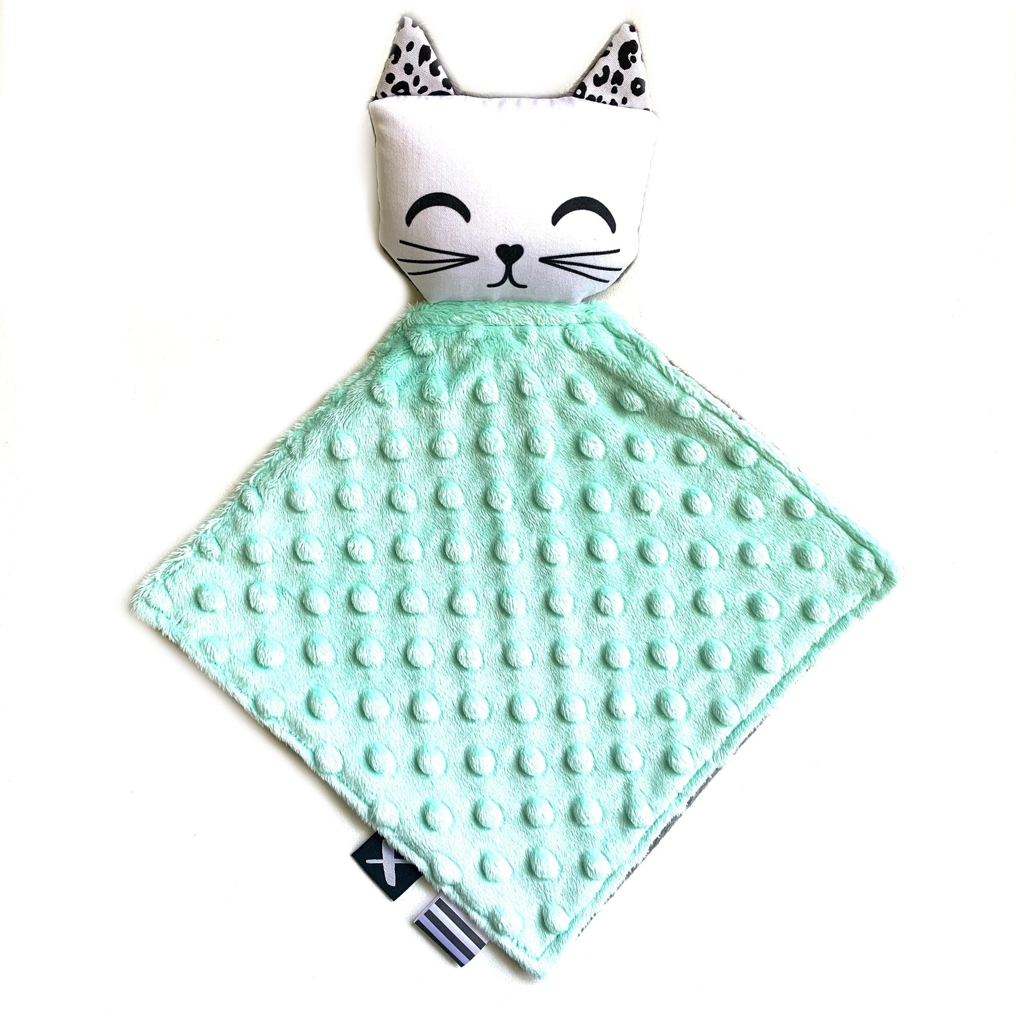 KITTY 'Binkie Blankie' (you pick the minky colour!)