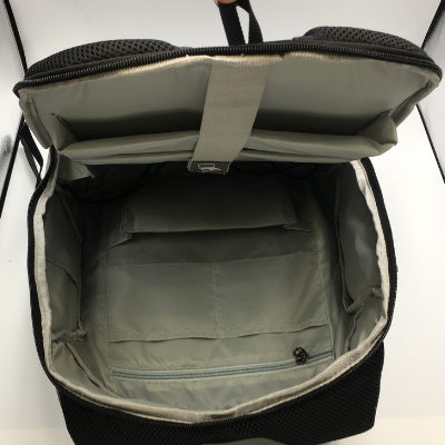 Internal storage of the new ant theft backpack