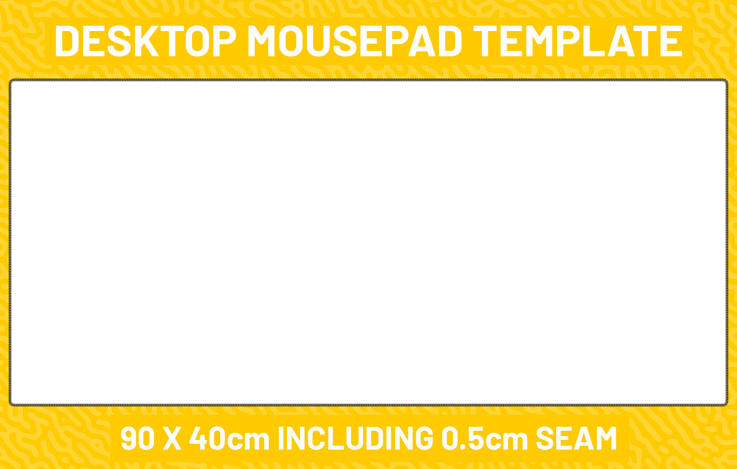 Desktop Mousepad Template