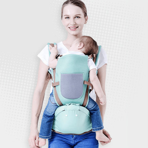 Multifunctional, Breathable Baby Carrier