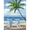 5D DIY Diamond Painting by Numbers - Palmtree Peace 5D Paint by Numbers Iconix