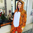 Adults Tiger Onesie Onesies Iconix