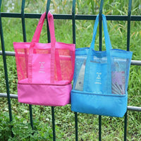 Beach and Picnic Tote Bag with Cooler Iconix