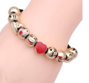 Charming Emoji Themed bracelet with 10 Emoji themed charms Jewellery & Watches Iconix