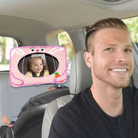 Child Safety Backseat Monitor Car Rear View Seat Mirror Iconix