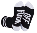 F**K Off Funny Cotton Socks Fashion Iconix