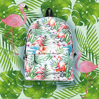 Flamingo Printed Backpack Outdoor Iconix