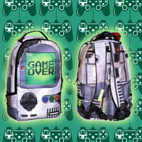 Game Over Console Printed Kids Backpack Backpack Iconix