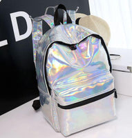Holographic Backpack Outdoor Iconix Silver