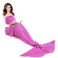 Mermaid Tail Blanket (Adult/Teen Size) Blue, Purple & Pink Colours | 708 Iconix PINK For Adult 708