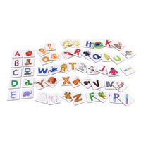 MiDeer Match the alphabet image cards Kids Iconix