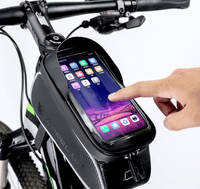 Mountable Handlebar Waterproof Phone Pouch with storage compartment B20 Outdoor Iconix
