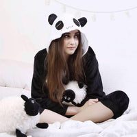 Panda Onesie for Adults Iconix