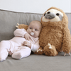 Plushy Stuffed Sloth Plush Toy Kids Iconix
