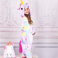 Purple Starry Unicorn Kids Onesie Iconix