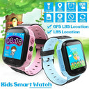 Q528 Kids GPS Smart Watch with Touch Screen | In Blue or Pink Smart Watches Iconix