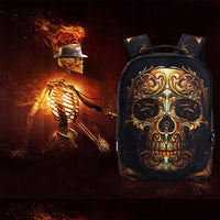 Skully Skeleton Backpack Outdoor Iconix