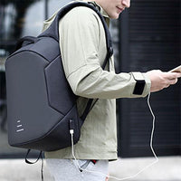 Upgraded Anti-Theft Laptop Backpack With USB Charging Port and Headphone Jack Iconix