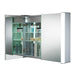 LED Illuminated Bathroom Mirror Cabinet C13 Wired Heatpad