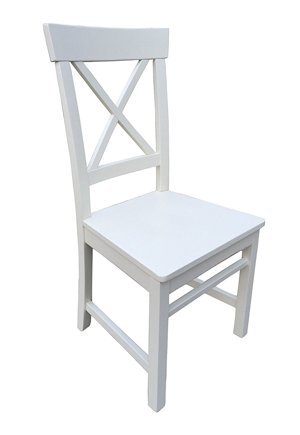 Cream finish dining room chair