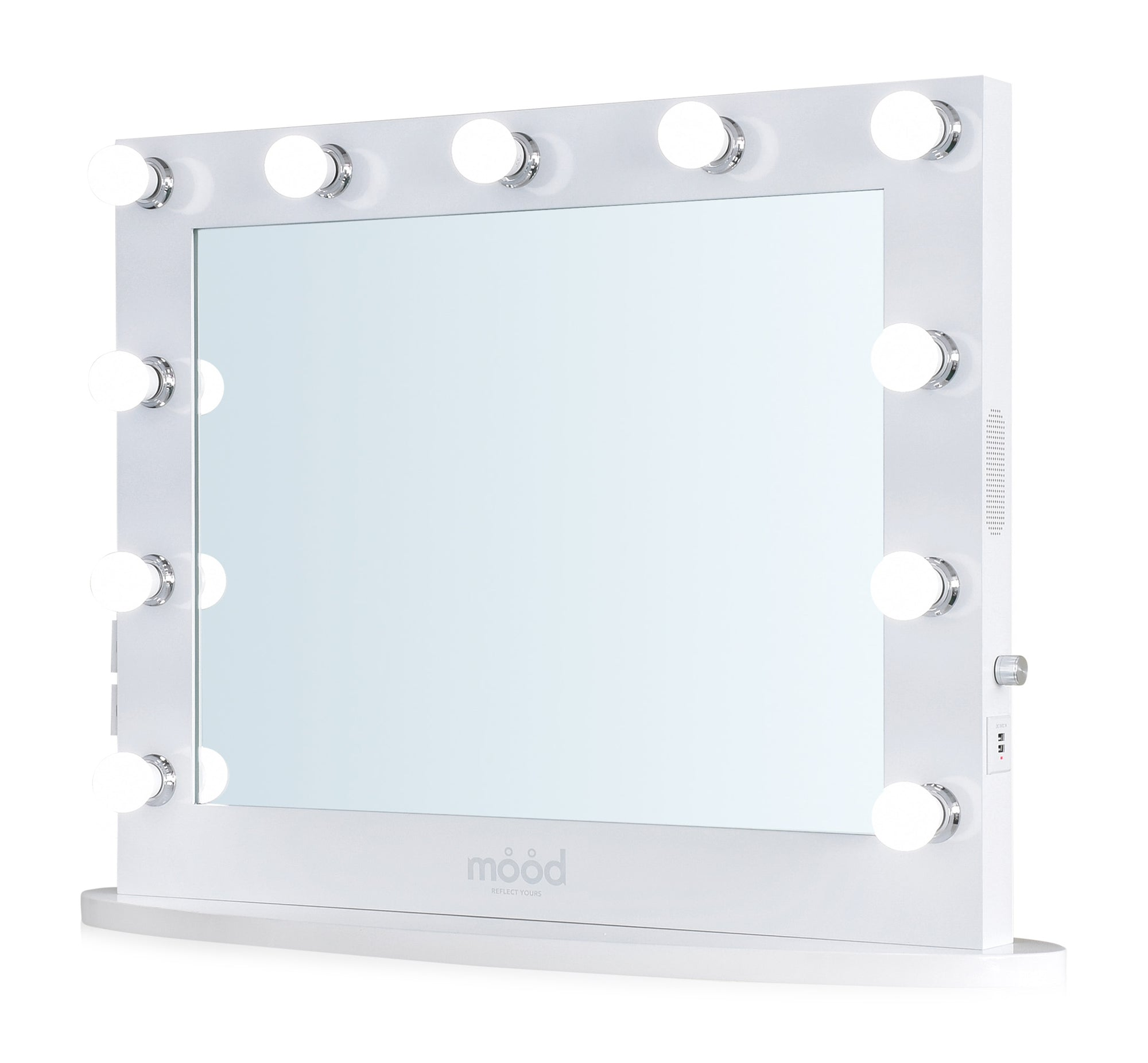 Vanity Hollywood Mirror with Bluetooth.