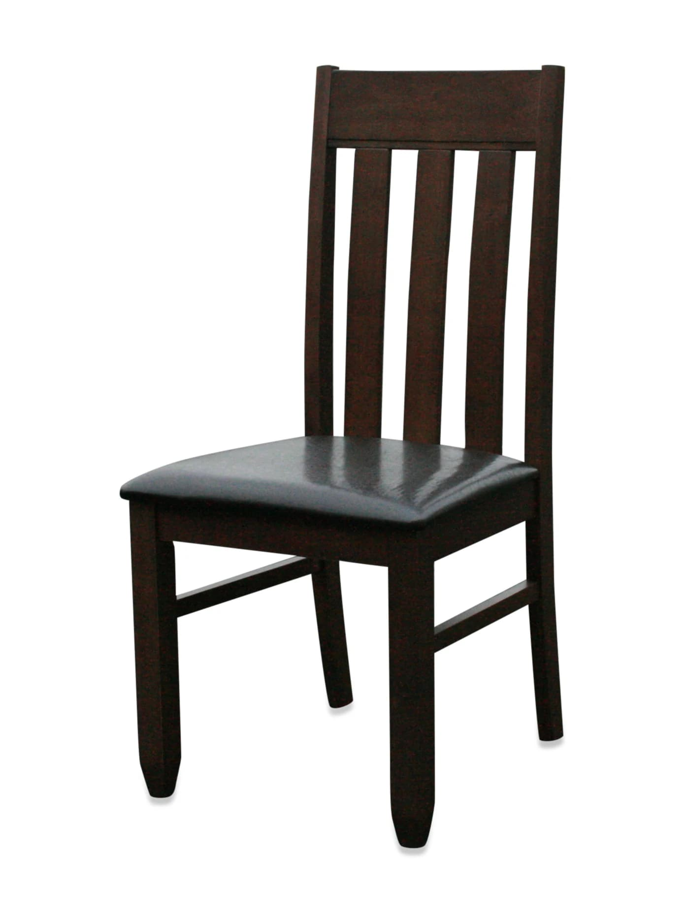 Dining chair walnut finish