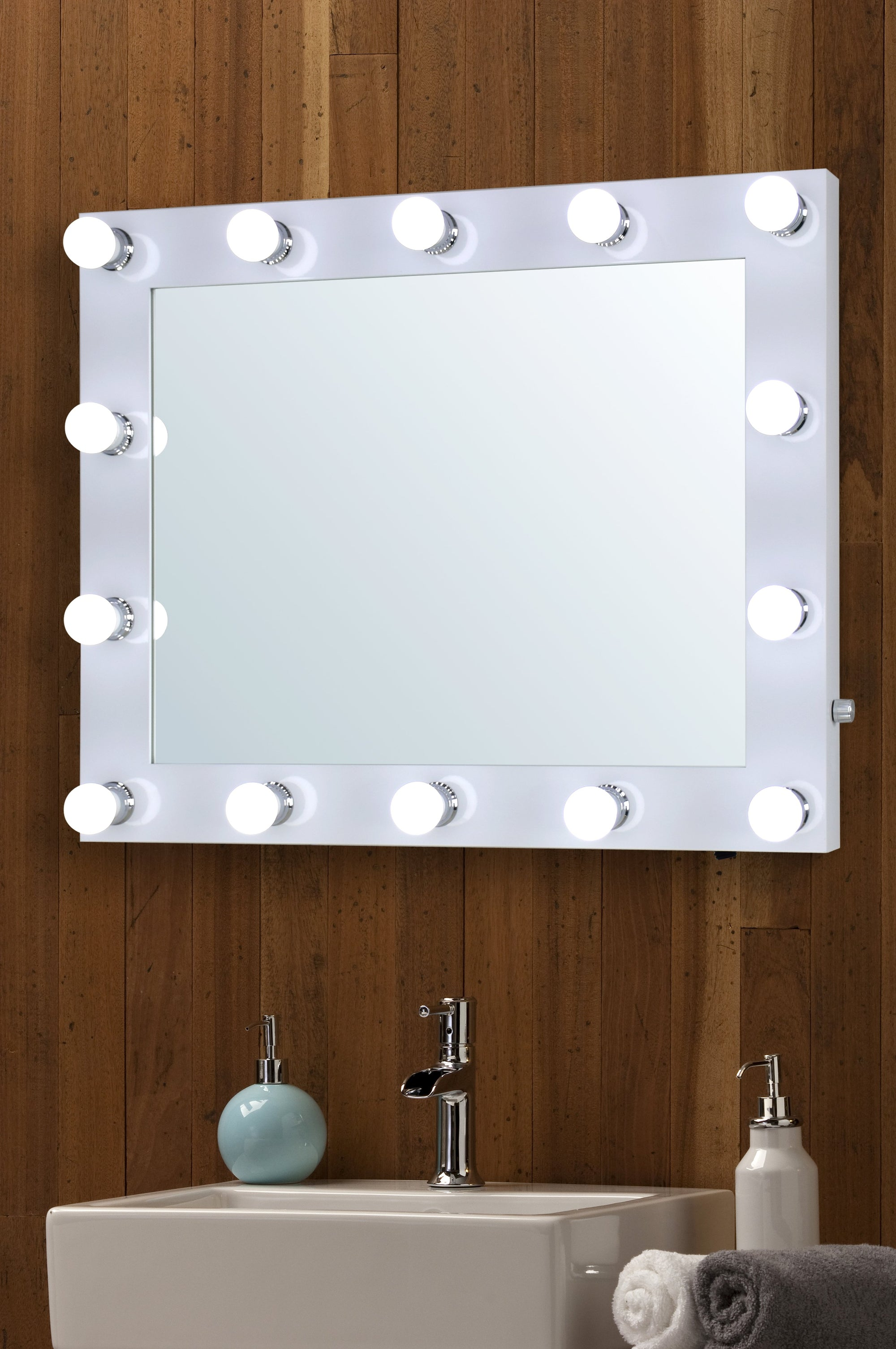Bathroom Hollywood Mirror - Mood Living
