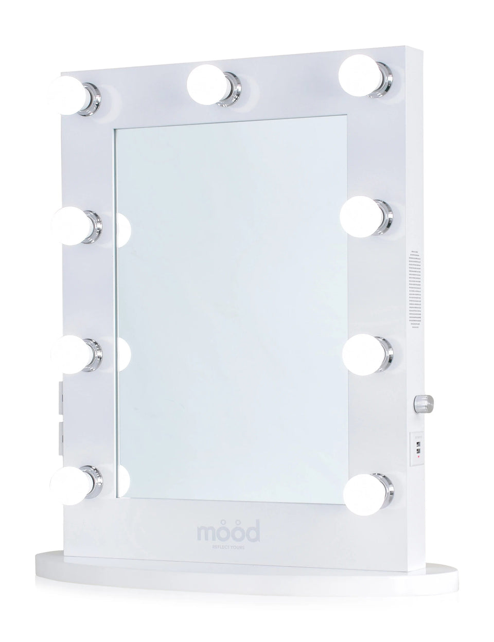Vanity mirror with speaker  - Mood Living