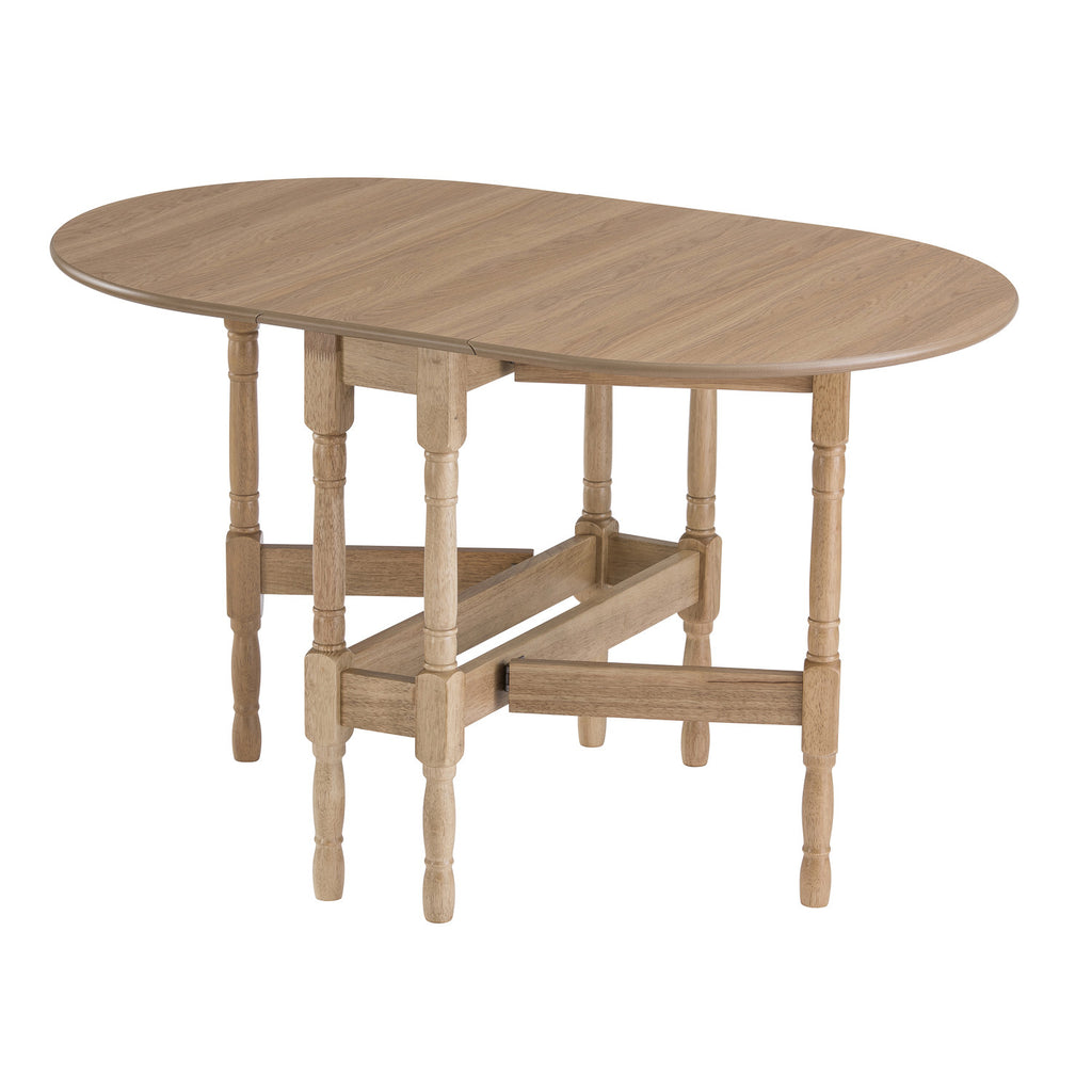 gateleg dining table open