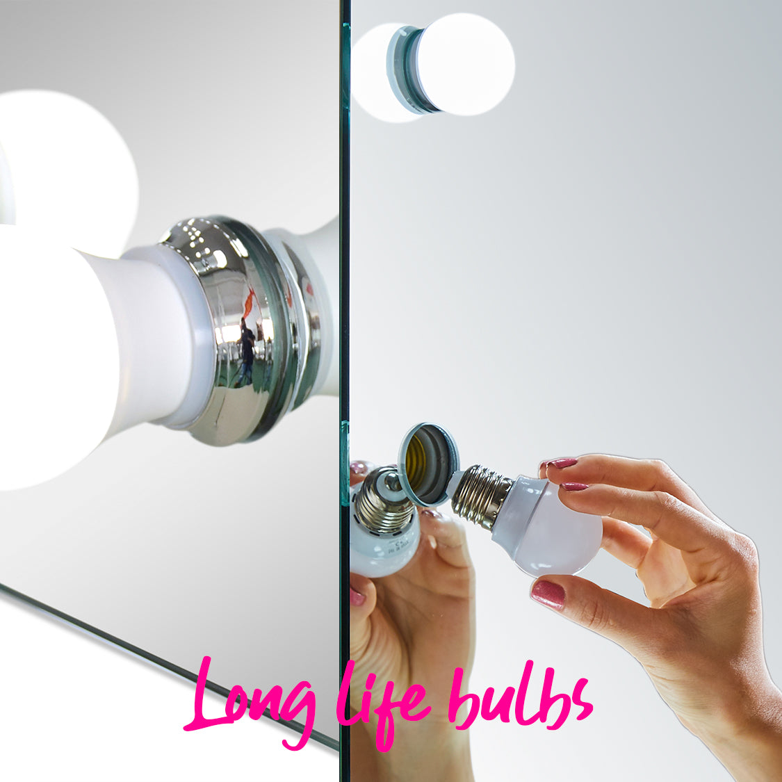 Hollywood Mirror Bulbs - Mood Living
