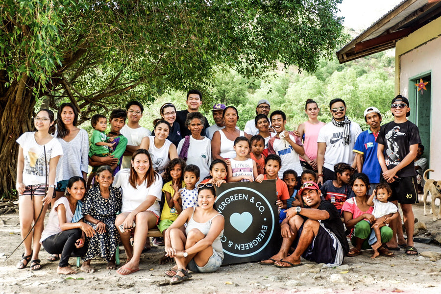 Evergreen parteners with MAD travels for an AETA outreach program