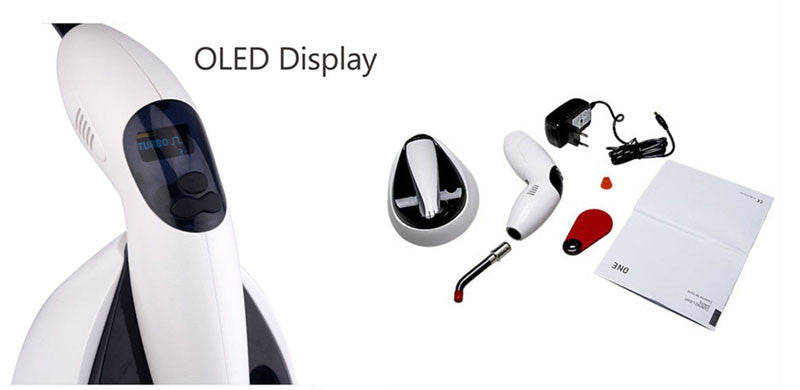 Dental Wireless LED Lamp Cordless Curing Light 2000mW/cm² ONE