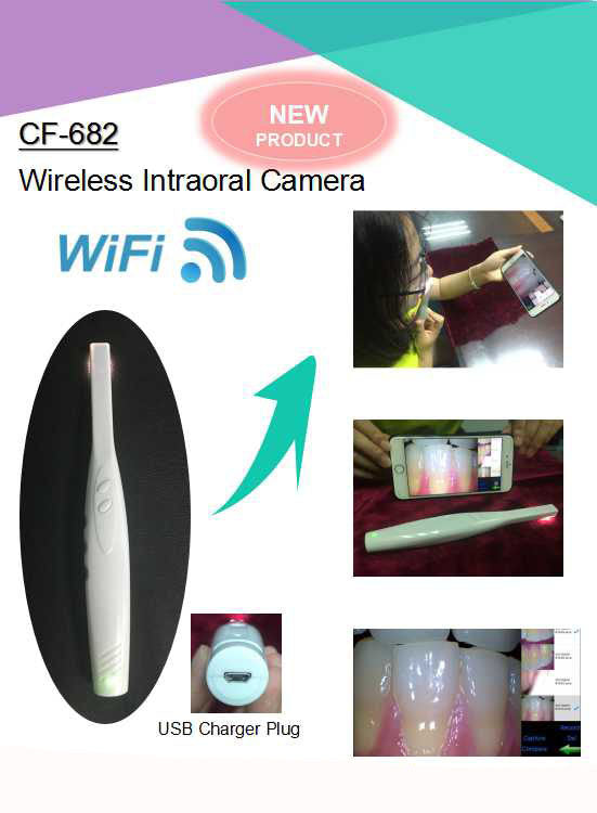 MLG® CF-682 New Wireless Intraoral Camera