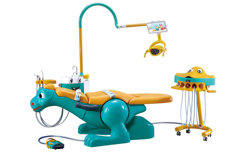 A8000-IIB Lovely Dinosaur Design Kids Dental Chair Unit