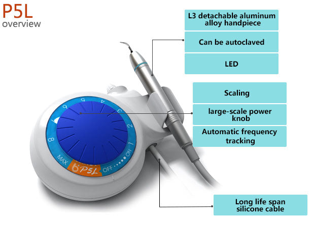Ultrasonic Scaler - Baolai P5L