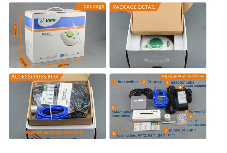 Ultrasonic Scaler - VRN-K08A/K08AM/K08AL