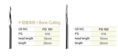 SBT® FG Bone Cutting Burs