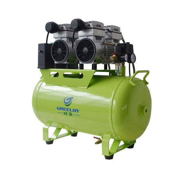 Dental Oil Fee Air Compressor - Greeloy GA-82