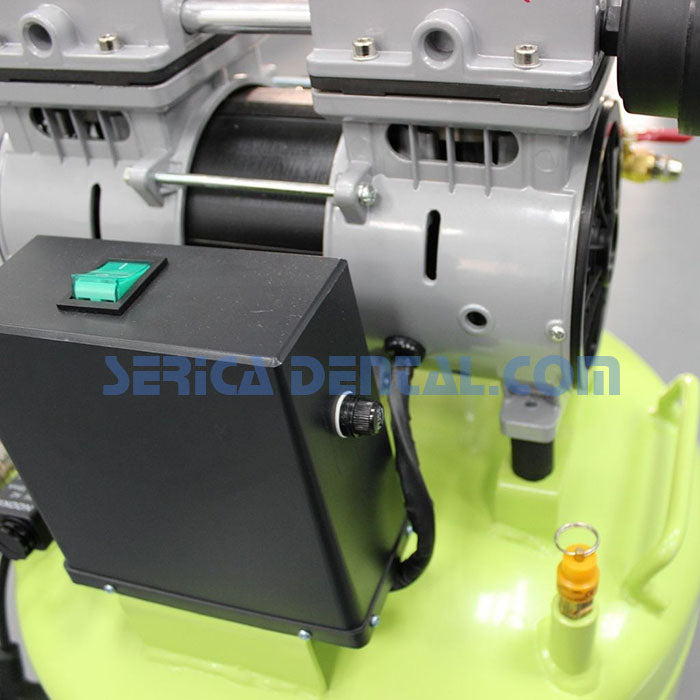 Dental Oil Fee Air Compressor - Greeloy GA-61