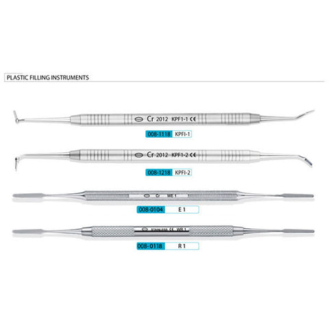 Dental Plastic Filling Instruments