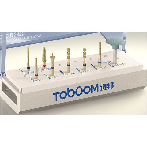 Toboom® Dental preparation Kit for Porcelain veneer 8PCS/KIT FG0807D