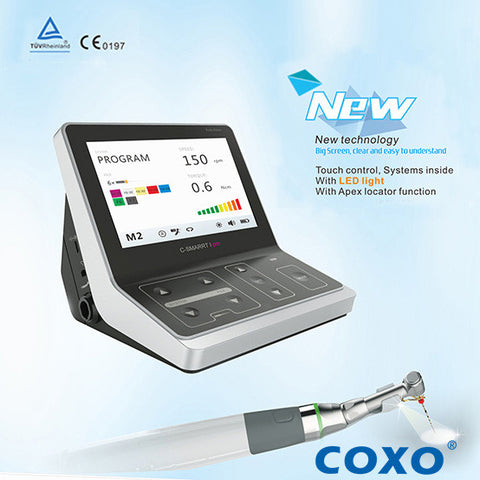 COXO/YUSENDENT® C-Smart-1 Pro Endo Motor with Apex Locator and LED Light