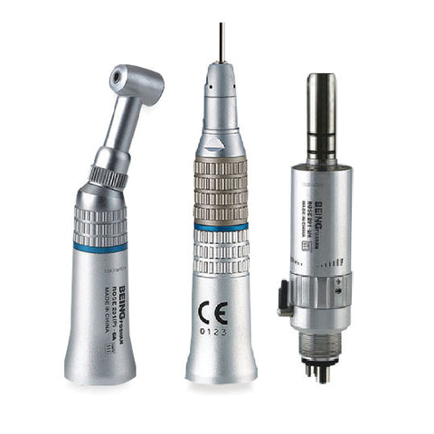 Being® Rose-201P-M4/B2 E-type Dental Low Speed Handpiece Kit (2/4 Holes)