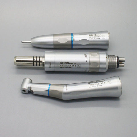 Being® Rose-202PB Fiber Optic Inner Water Dental Low Speed Handpiece Kit