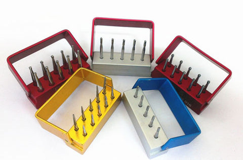 SBT® FG Carbide Burs Taper Dome End Cross-Cut Burs for High Speed Handpiece 5 pcs/box or 10 pcs/box